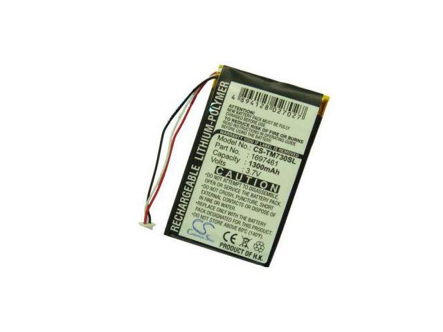 obsah balení Baterie (ekv. VF8) pro TomTom Go 530 Live, 630T, 720, 730T, 930T, Li-pol 3,7V 1300mAh + univerzální nabíječka bateriíí