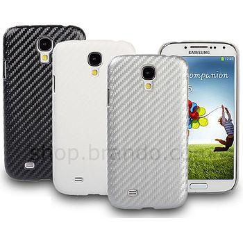 Brando zadní kryt pro Samsung Galaxy S4, karbon, bílý