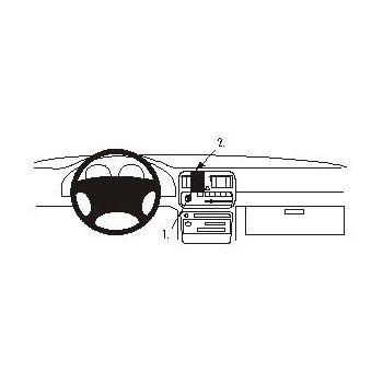 Brodit ProClip montážní konzole pro Subaru Legacy 95-98/Outback 95-98, na střed