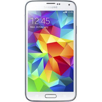 Samsung GALAXY S5 G900 Shimmery White + ochranné sklo VMAX na displej