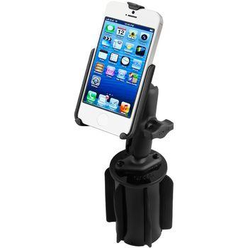 RAM Mounts držák na iPhone 5 a 5S do auta do držáku na nápoje, sestava, RAP-299-3-B-AP11U