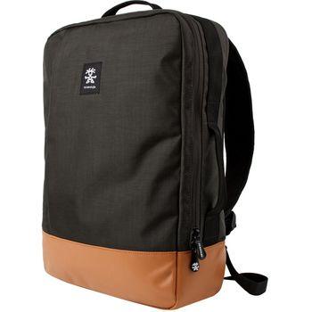 """Crumpler Private Surprise Backpack L nylonový batoh 15.6"""" - černá/oranžová"""