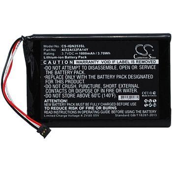 Baterie pro Garmin Nüvi 2539 Li-ion 3,7V 1000mAh