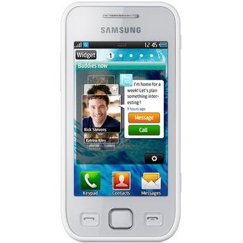 Samsung Wave 525 pearl white