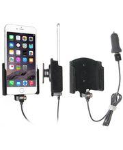 Brodit držák do auta na Apple iPhone 6/6S/7 Plus bez pouzdra,s nabíjením z cig. zapalovače/USB,samet