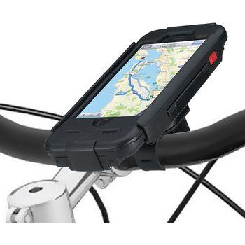 Držák BikeConsole pro iPhone 6 na kolo nebo motorku na řídítka pro uchycení telefonu + stylus SJ3 černý