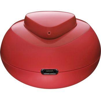 Nokia Bluetooth Headset Luna BH-220W s bezdrátovou nabíječkou, červená