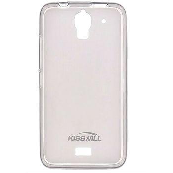 Kisswill TPU pouzdro pro Huawei Y360, transparentní