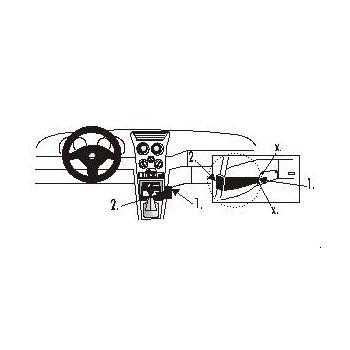 Brodit ProClip montážní konzole pro Alfa Romeo 145 94-97/146 98-00, na střed