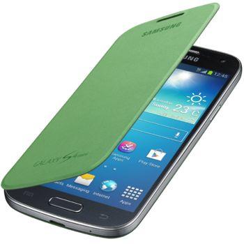 Samsung flipové pouzdro EF-FI919BG pro Galaxy S4 mini, zelená