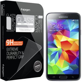 Spigen GLAS.tR prémiové ochranné sklo pro Samsung Galaxy S5