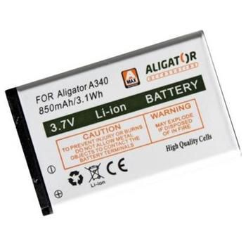 Aligator baterie pro Aligator A340, 850mAh, eko-balení