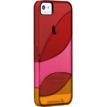 Case Mate COLORWAYS Flame Red/Lipstick Pink/ Tangerine Orange pro Apple iPhone 5