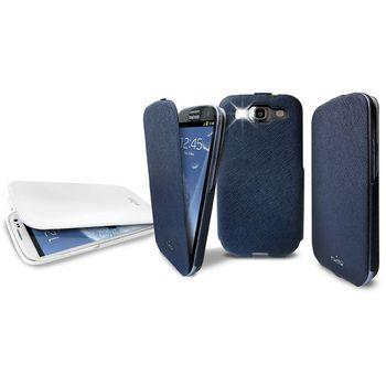 PURO pouzdro Flipper pro Samsung Galaxy S III - bílá