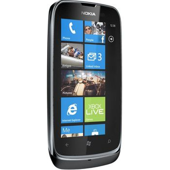 Nokia Lumia 610 Black + záložní zdroj Nokia DC-16 ZDARMA