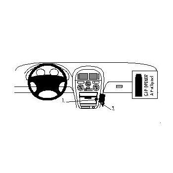 Brodit ProClip montážní konzole pro Mitsubishi Carisma 96-98, na střed