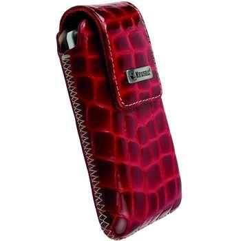 Krusell pouzdro Vinga Croco - L - HTC Desire, Nokia N8/C3-00/N900, SE Aspen 114x67x16mm (červená)
