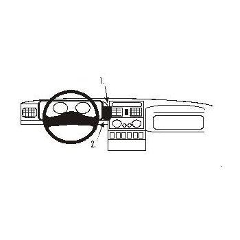 Brodit ProClip montážní konzole pro Renault Espace 91-96, na střed