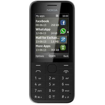 Nokia 208 černá