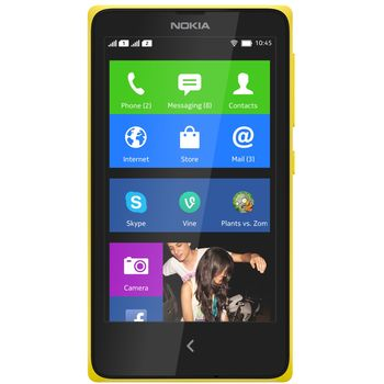 Nokia X Dual Sim žlutá