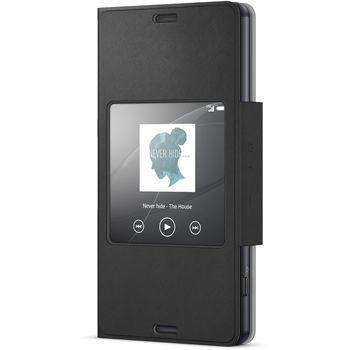 Sony flipové pouzdro Style Cover SCR30 pro Xperia Z3+, Black