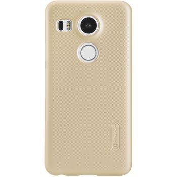 Nillkin zadní kryt Super Frosted pro LG Nexus 5X, zlatý