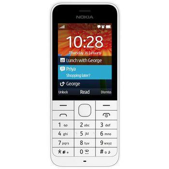 Nokia 220 Dual SIM bílá