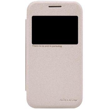 Nillkin flipové pouzdro Sparkle S-View pro Samsung G360 Galaxy Core Prime, zlaté