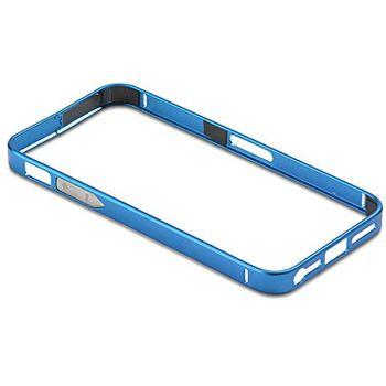 PanzerGlass ochranný hliníkový rámeček pro Apple iPhone 4/4s, modrý